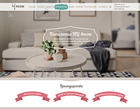 Furniture Mall. Landing page.