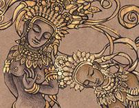 Indian Mythology-Themed Letters