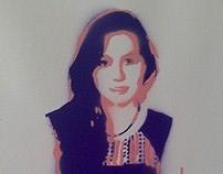 Stencil Retrato 2