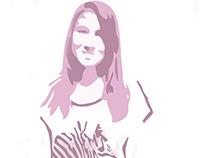 Stencil Retrato 3