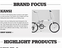 Cycle Surgery - Email design