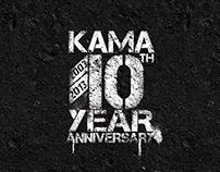 KAMA 10th ANNIVERSARY