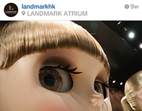 Landmark HK Instagram project
