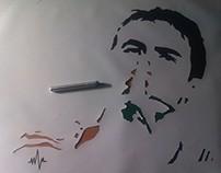 Stencil Raúl González Blanco
