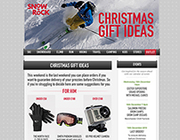 Snow+Rock email design