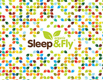 Sleep and Fly. Logo, branding, brochure.
