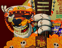 Book Of Life and Cheetos