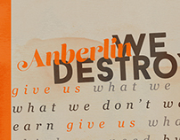 Anberlin - We Are Destoyer