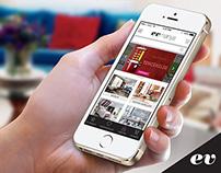 Evmanya.com -  Mobile App Design