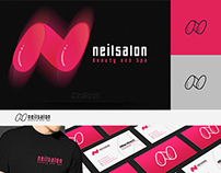 Nail salon Logo Template