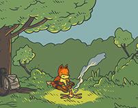 Short trip of Mister Fox