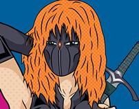 Morgana the Barbarian Assassin