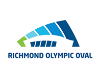 Richmond Olympic Oval Feather Flags