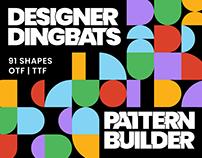 Designer Dingbats –Pattern Builder