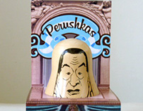 Perushkas Logo & Pack