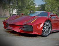 Nexeno sports car concept