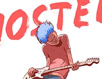 Hostel music festival