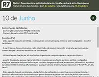Calendário Eleitoral 2014 - R7