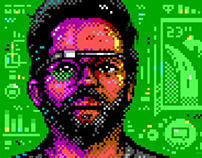 Sergey Brin illustration