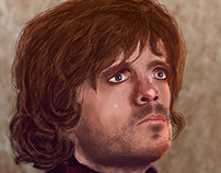 Ilustración Tyrion Lannister