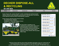 Decker Dispose-All & Recycling