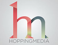 Logo Design - Hopping Media