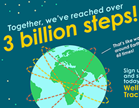 3 Billion Steps
