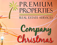 Premium Properties Company Christmas Dinner Flyers