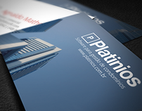 Business card |  Platinios