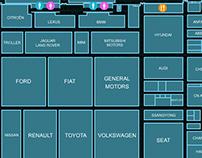 Mapa do Salão do Automóvel 2012