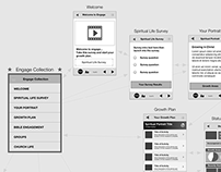 Mobile Wireframes & User Flow