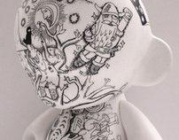 Exhibition Art with ILoveDust, KidRobot & ArtfulDodger