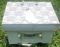 Wooden Wedding Memory box