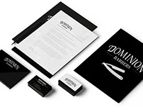 Dominion Barbers | Branding