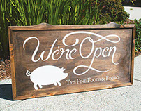 Ty's Fine Foods & Bistro | Sign