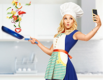 "Animated Gif for ABC Family's ""Young & Hungry"""