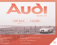 Audi Ad Poster