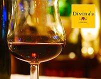 Logo Pizzaria Divina`s