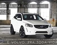 Cartaz (Teste Drive Volvo)