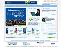 Movistar. Institutional Site 2007