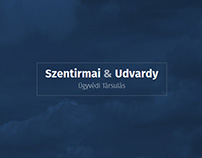 Szentirmai & Udvardy Law Office - website