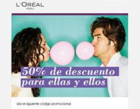 L'Oreal Mailings