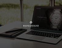 [Academy Jungle]Web UX&UI_Baume & Mercier