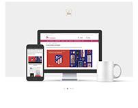 DIseño web galería de productos personalaizer.com