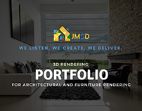 3D Exterior Rendering Services Building