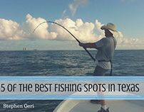 Stephen Geri: 5 of the Best Fishing Spots in Texas