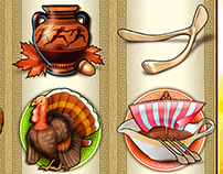 Zeus II slot Thanksgiving theme for Scientific Games