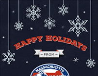Holiday Card - Massachusetts Hockey