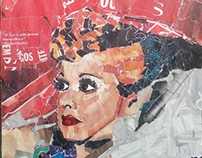 Lucille Ball (Collage)