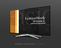 ISTANBUL FASHION WEEK | TV OPENER
